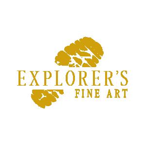 Explorer's Fine Art Logo Symbol
