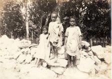 African slave children, The Bahamas