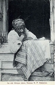 An old African slave, Nassau N. P. The Bahamas
