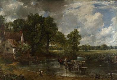 Constable The Haywain 1821