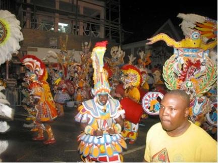 Junkanoo celebration in Nassau